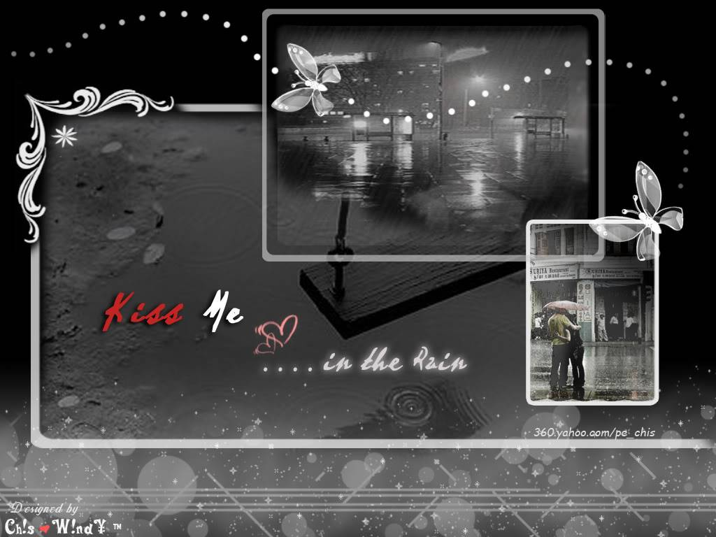 Some cute wallpapers I found (almost are black and blue) Intherain2an1