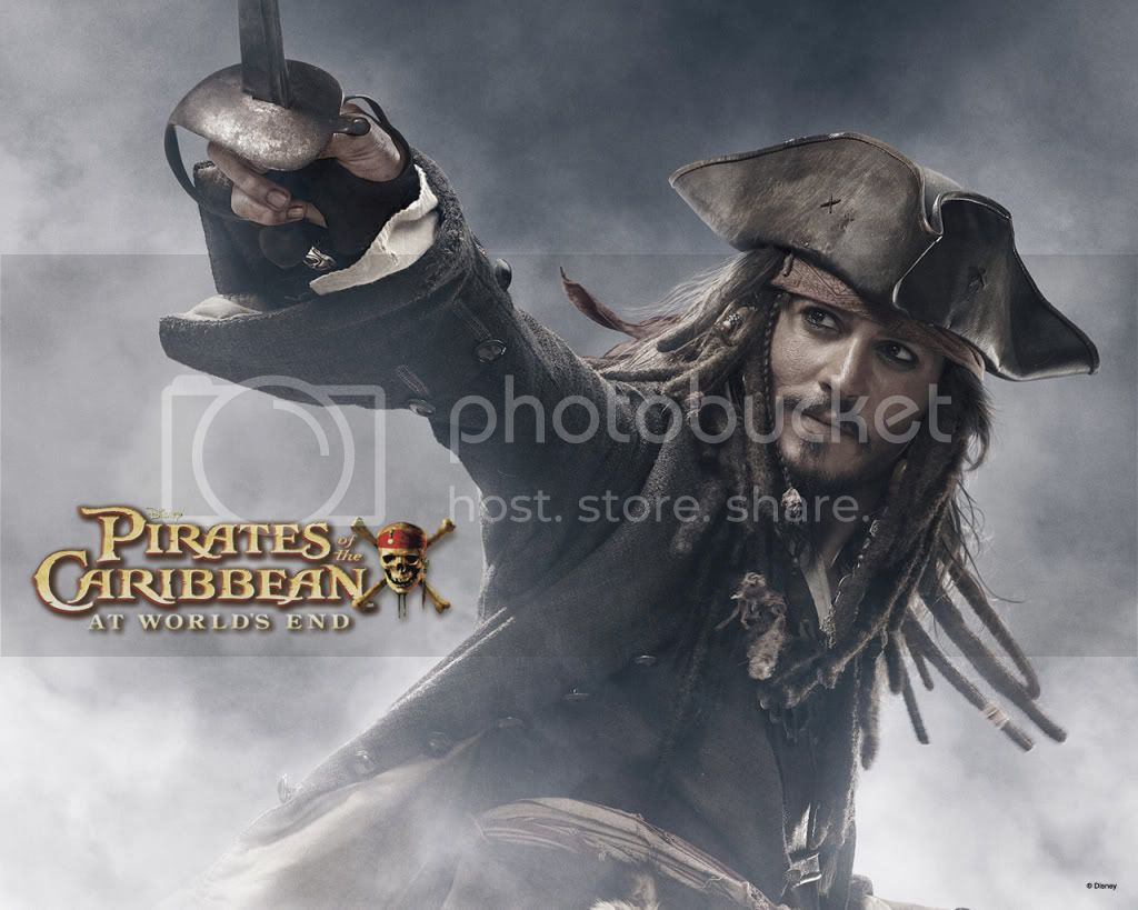 Pirates of the Caribbean: At World's End Jack-sparrow