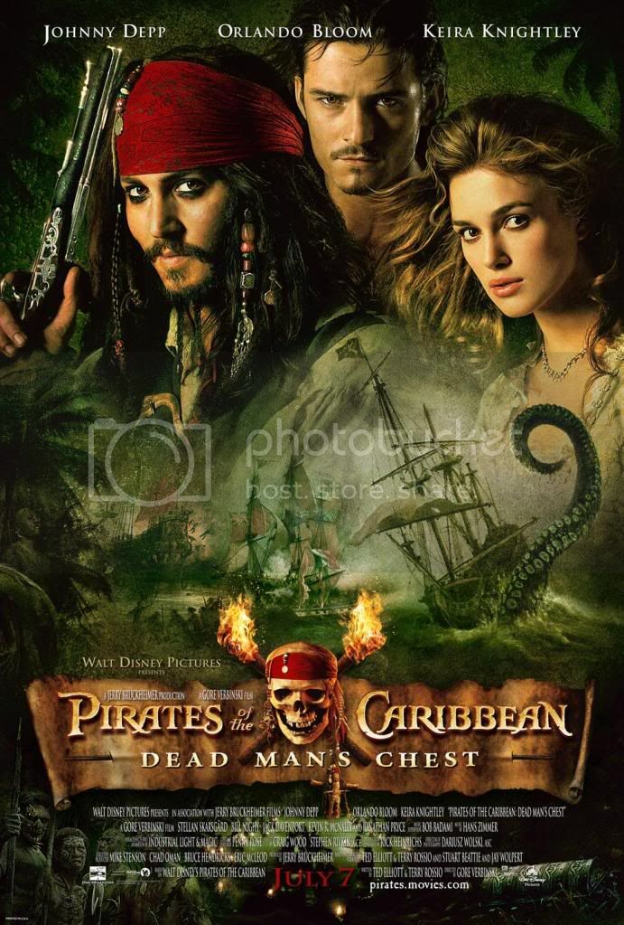 Pirates of the Caribbean: Dead Man's Chest Movieposter