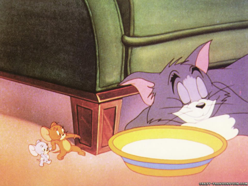 Tom & Jerry Sneak-tom-and-jerry-wallpaper