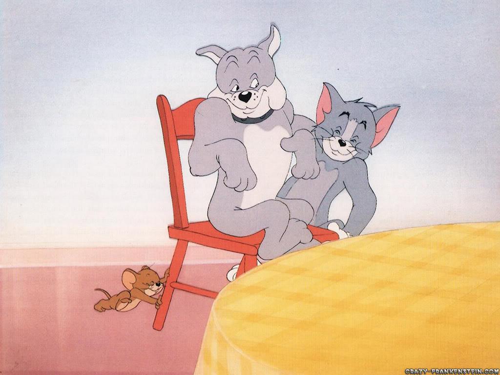 Tom & Jerry Trio-tom-and-jerry-wallpaper
