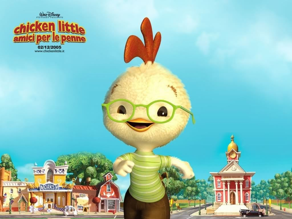 Chicken little Wallpaper-del-film-chicken-little-a