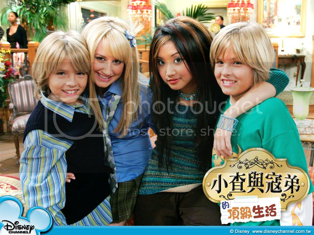 The suite life of Zack & Cody Wallpaper01