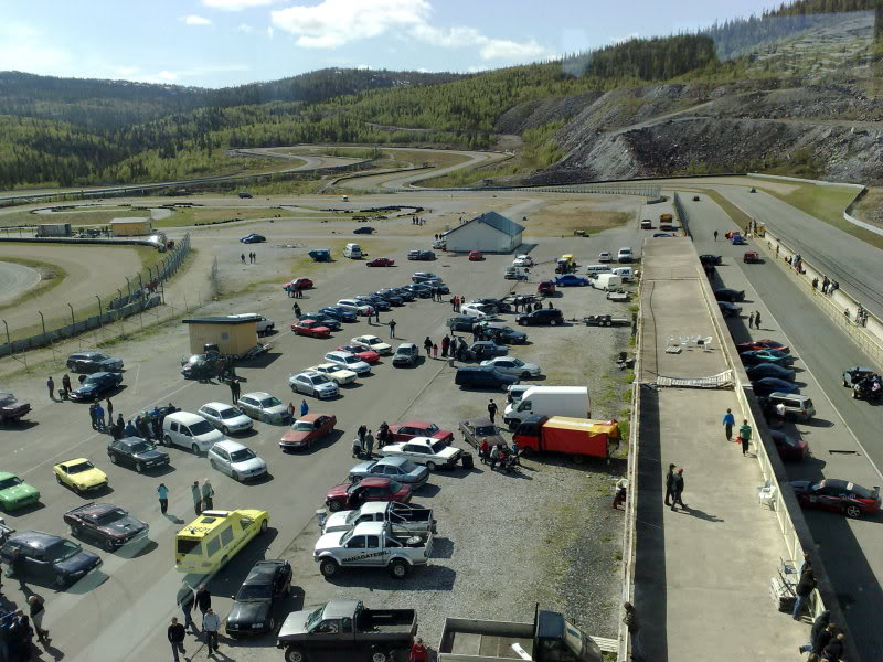 Liteglow on the Artic Circle Raceway - Norway ! 01062009803