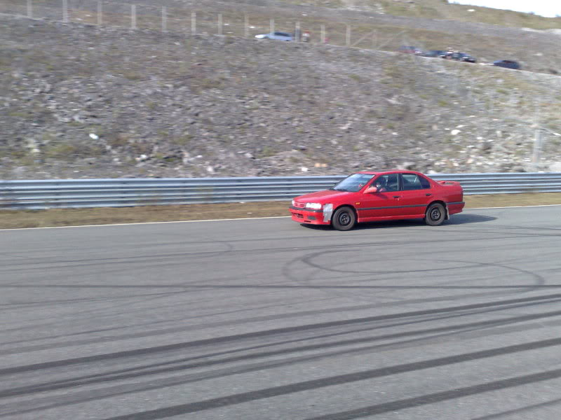 Liteglow on the Artic Circle Raceway - Norway ! 01062009804