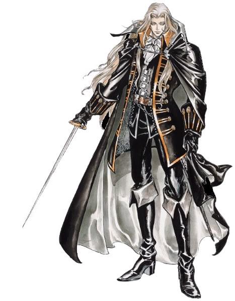 Alucard, no solo en manga y anime, tambien en video juego. Alucard