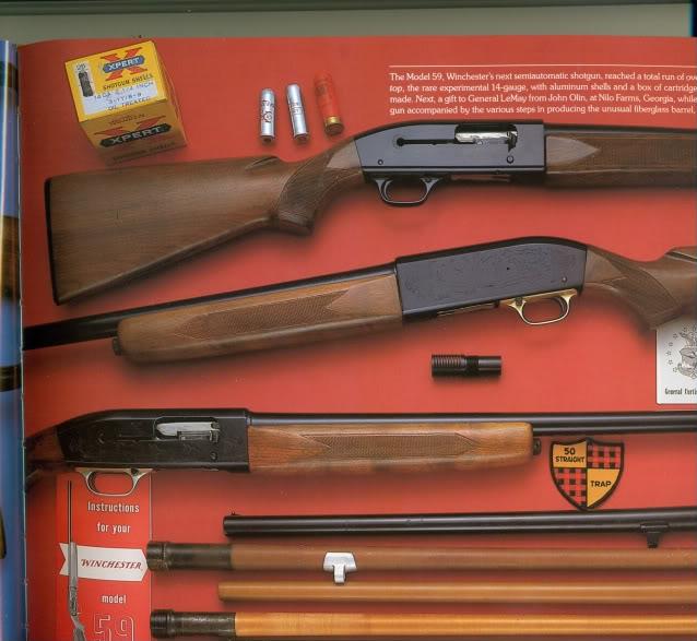 Différence entre la cartouche de chasse calbre 14 et celle du calibbre 28 Winchester14ga0001-1