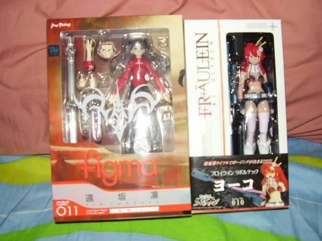 Latest Toys bought. Figmarinrevoyoko