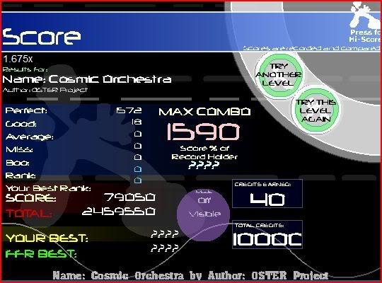 oh hey wc plays ffr again(on vista) Cosmicorchestra