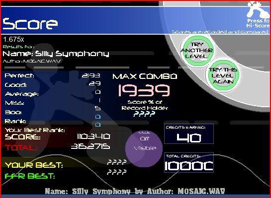 oh hey wc plays ffr again(on vista) Sillysymphony