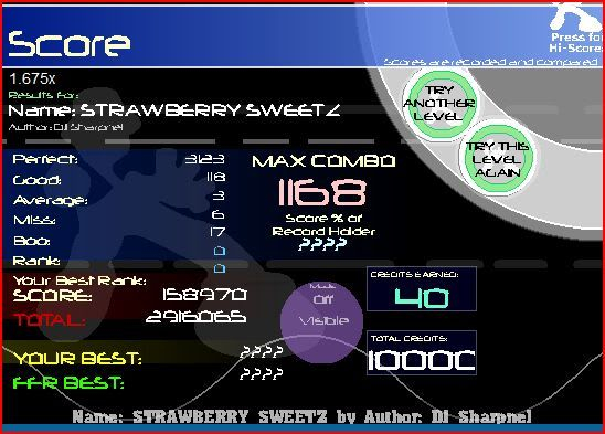 oh hey wc plays ffr again(on vista) Strawberrysweetz