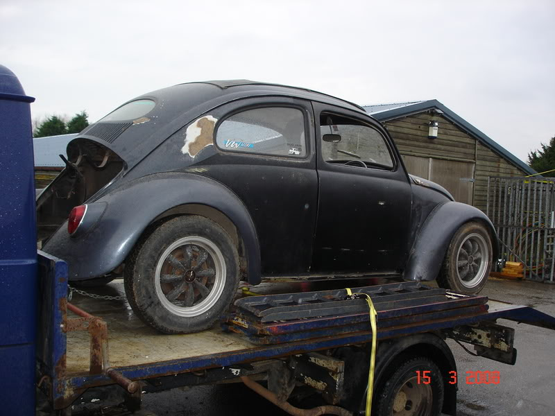 'Beryl' The 1957 RHD Ragtop Oval with suicide doors! - Page 3 Recoverytruck001