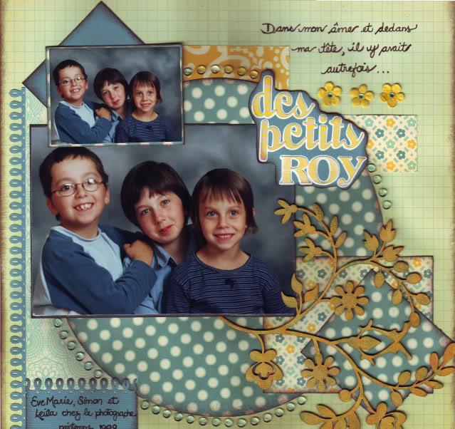 23 novembre - Des petits Roy DespetitsRoy