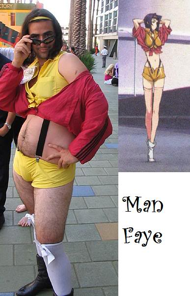 Bad Cosplay Manfaye