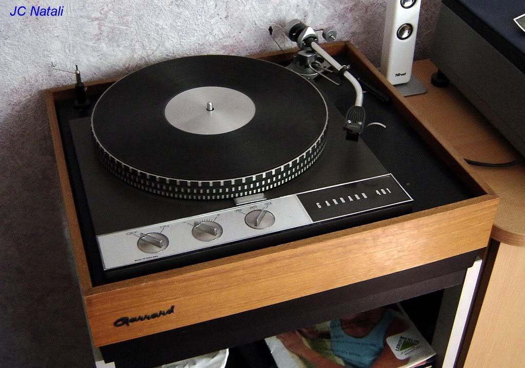 cadena vintage años 90 Garrard401BrasSME2