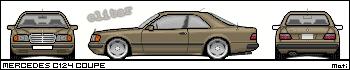 Mercedes-Benz Mercedes_c124