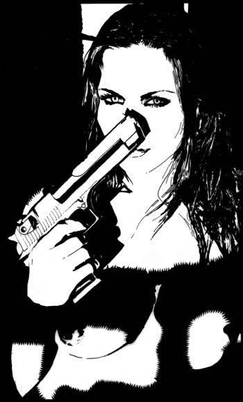 pour le plaisir des yeux - Page 6 Girl_with_gun