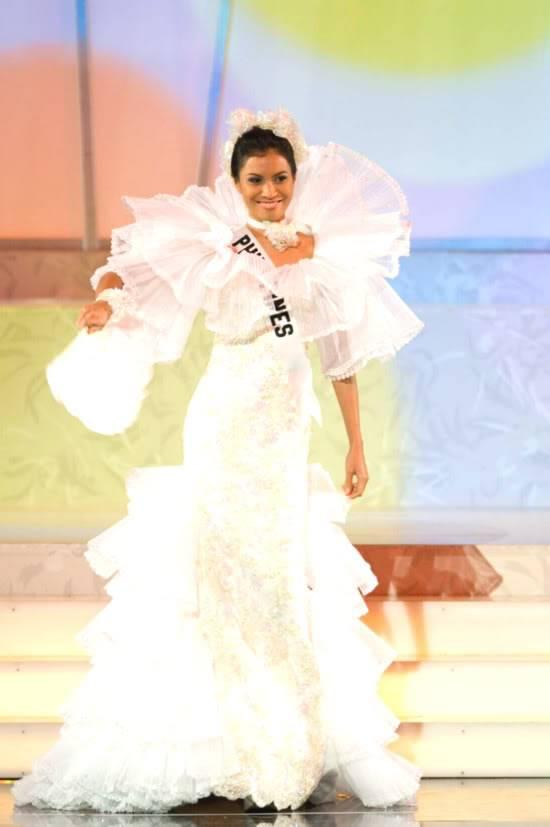 The Decade's Binibining Pilipinas-Universe Beauties from the University of the Philippines Liancostumefrmsunivwebsite