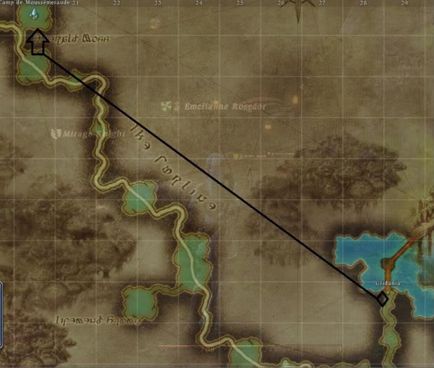 Guide Épopée: Archer Rang 20: Les flèches divines  Campmoussemeraude-1