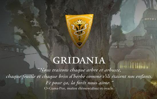 Presentation de Gridania Drapeaugridania