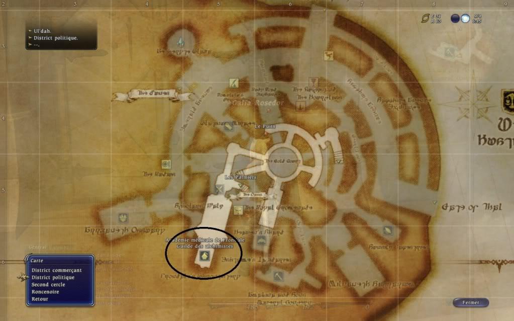Guide épopée: Ul'Dah: Quand la mort frappe Guildedesalchimistes