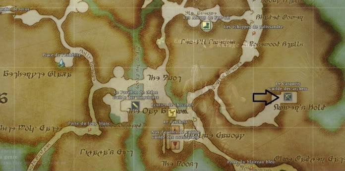 Guide Épopée: Archer Rang 20: Les flèches divines  Guildedesarchers-1