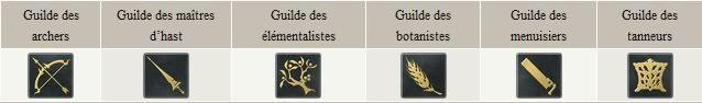 Cartes, Ennemis, Rang de competences Guildes_gridania