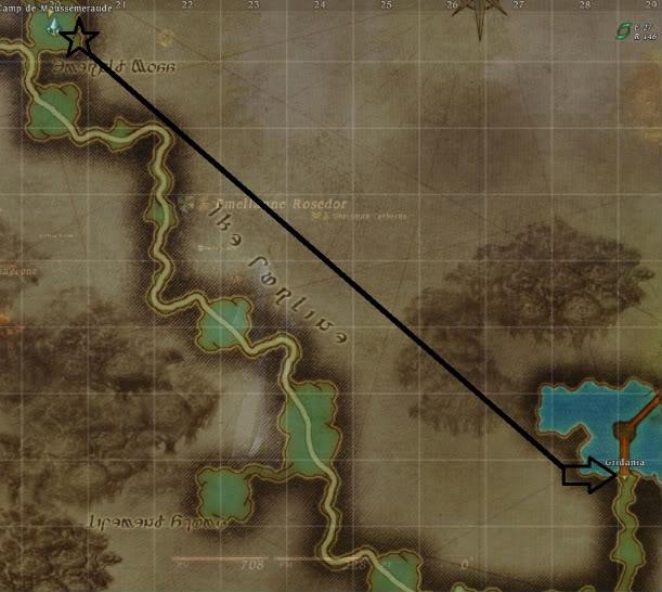 Guide Épopée: Archer Rang 20: Les flèches divines  Retourgridania-1