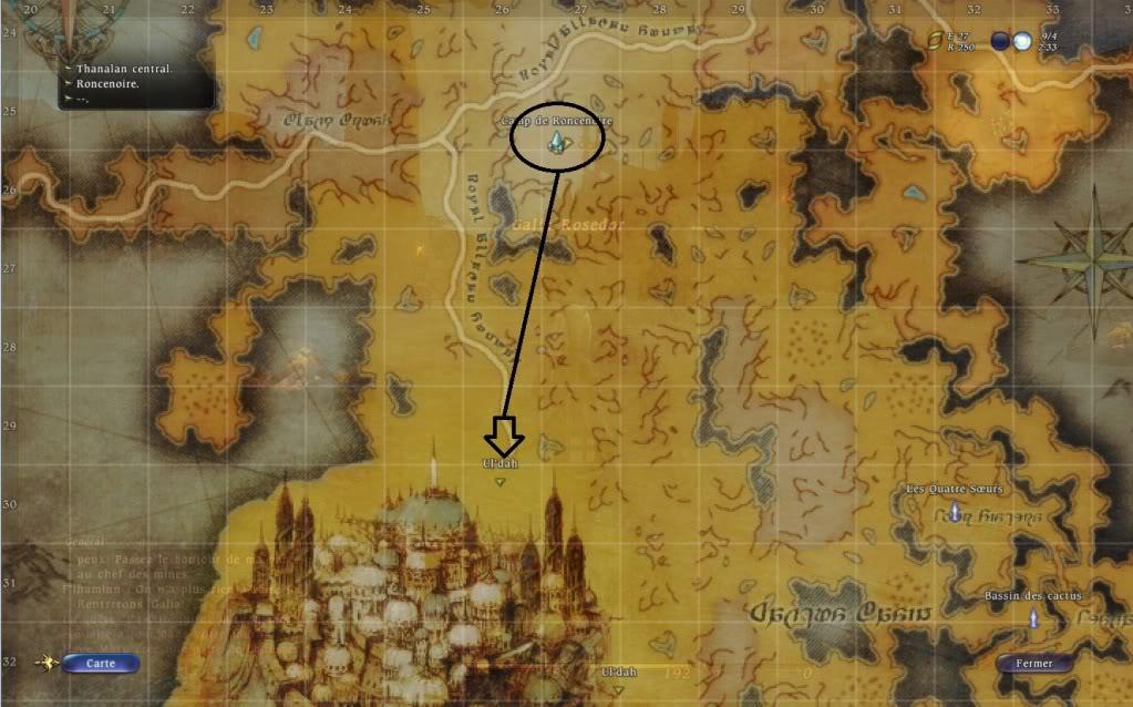 Guide épopée: Ul'Dah: Quand la mort frappe Versuldah