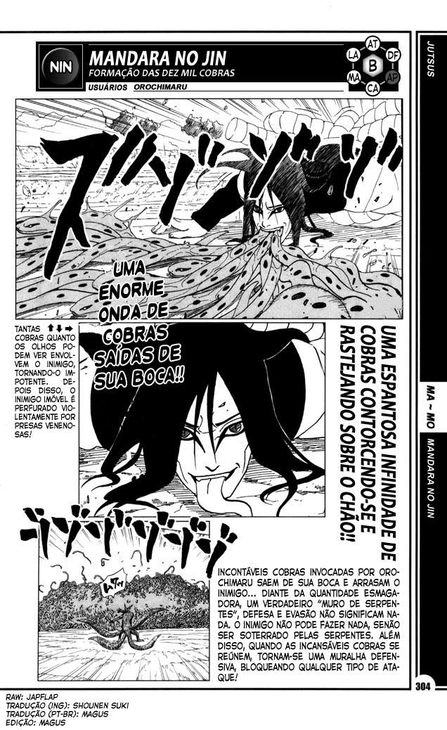 Mais poderoso do que você imagina #1: Orochimaru 304