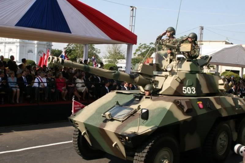 Armée paraguayenne Traspaso-de-mando