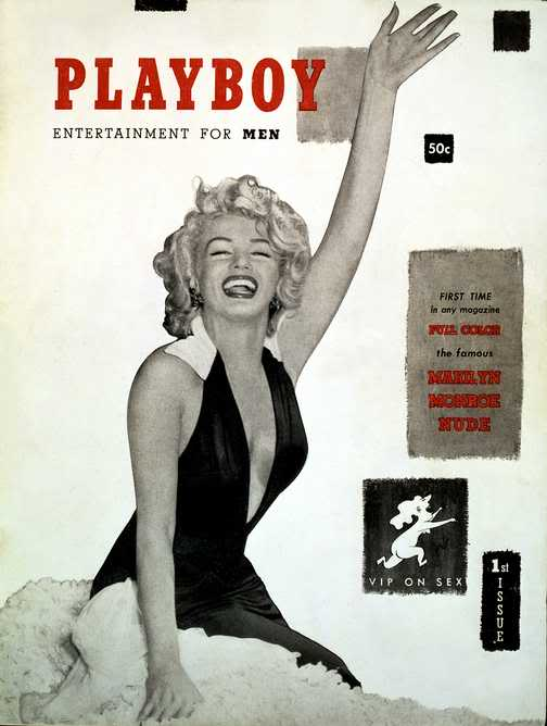 MARILYN MONROE (American actress, singer, model) PlayboyMarilynMonroeCover1