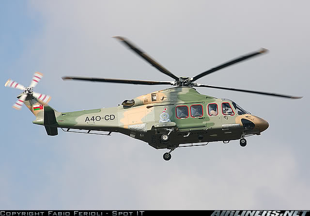 Armée Omanaise / Sultan of Oman's Armed Forces - Page 2 AgustaWestlandAW-139