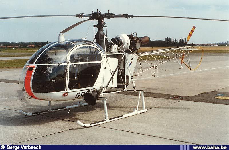 Armée Belge / Defensie van België / Belgian Army  - Page 2 Alouette-II-G-93-SV