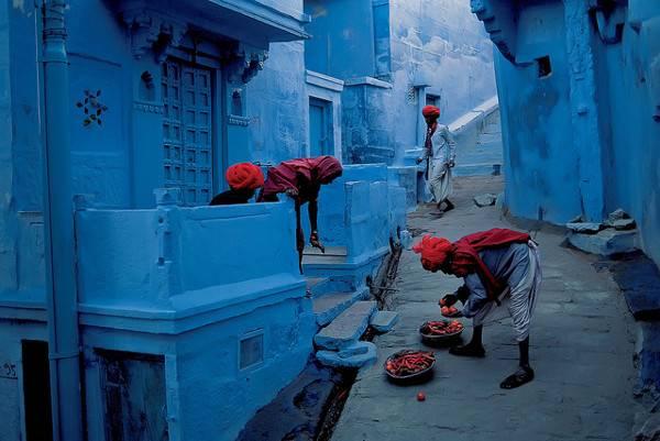 Cities of Color - Những thành phố sắc màu Jodhpur-India-1
