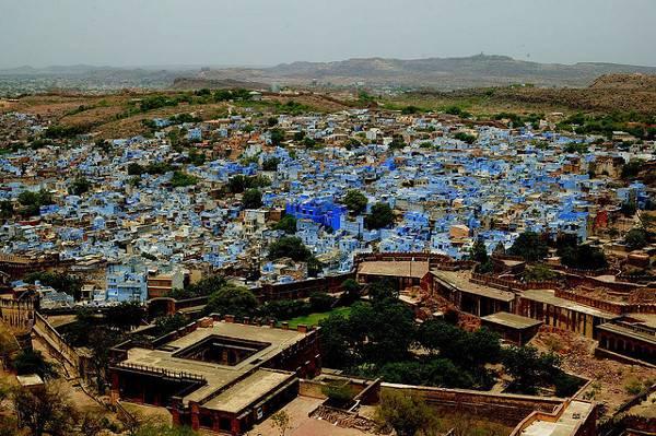 Cities of Color - Những thành phố sắc màu Jodhpur-India-2