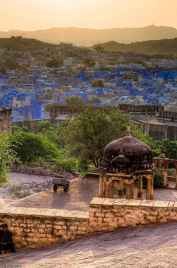 Cities of Color - Những thành phố sắc màu Jodhpur-India-3
