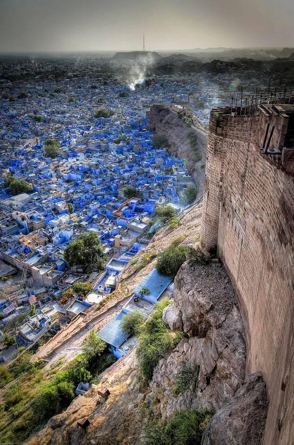 Cities of Color - Những thành phố sắc màu Jodhpur-India-4