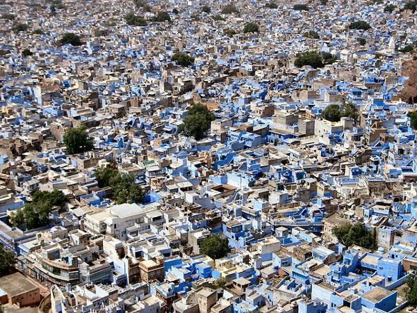 Cities of Color - Những thành phố sắc màu Jodhpur-India-6
