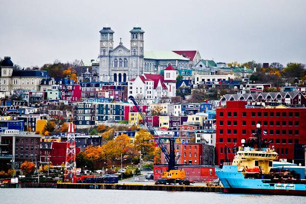 Cities of Color - Những thành phố sắc màu St-Johns-Newfoundland-Canada-1