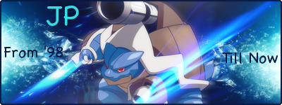 Pokemon Black and White's Release SignatureMegaBlastoise