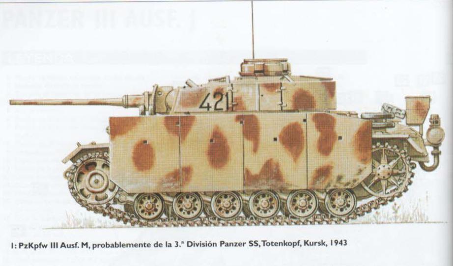 PANZER III Ausf.M/N TANK DRAGON 1:35 SCALE KIT 9015 GERMAN  Lamina9-1