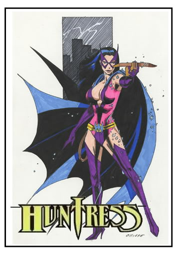 Earth-2 is coming! - Page 4 Huntress