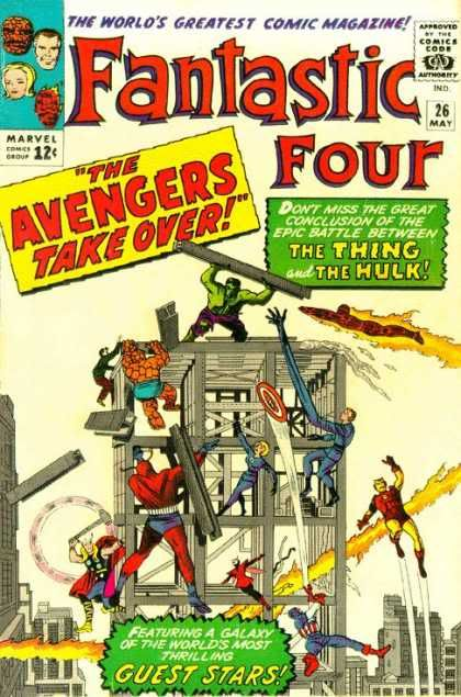 Marvel - The 1960's FantasticFour26