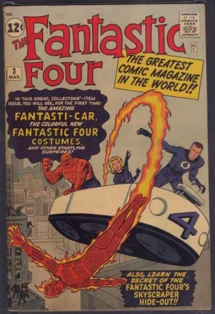 Marvel - The 1960's FantasticFour3