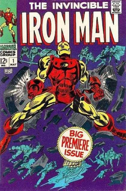 Marvel - The 1960's Ironman1
