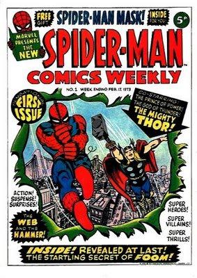 Spider-Man Comics Weekly TV Advert 1973? Spider-Man_Comics_Weekly_-1