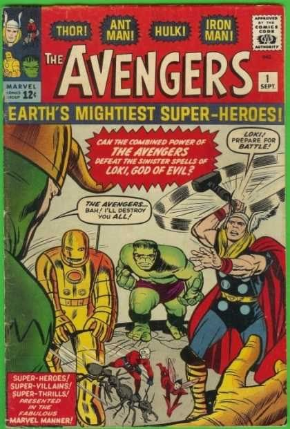 Marvel - The 1960's Avengers1
