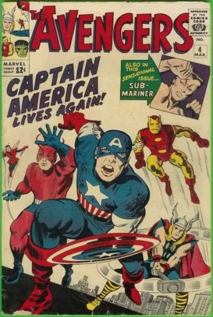 Marvel - The 1960's Avengers4