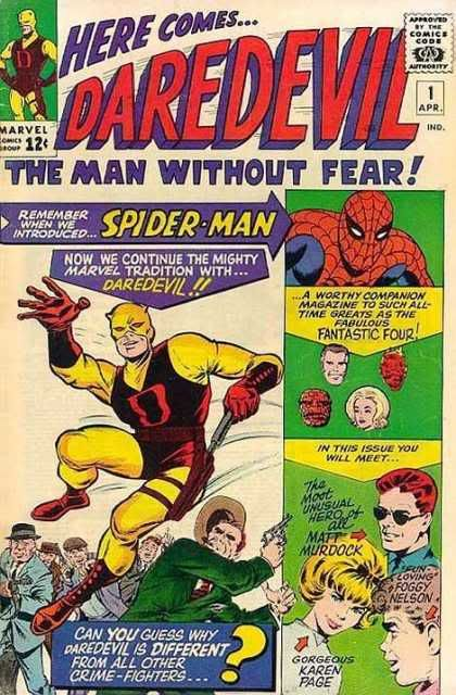 Marvel - The 1960's Daredevil1